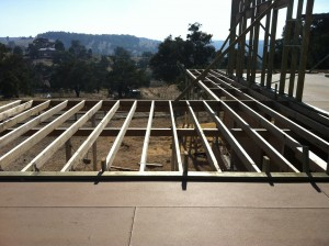 First stage - Joists