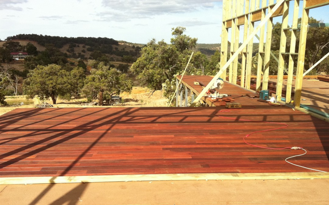 Timber Decking by Avon Building in Perth